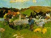 Free Artistic Wallpaper : Gauguin - The Swineherd Brittany
