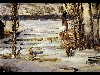 Free Artistic Wallpaper : George Bellows - A Morning Snow