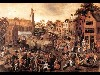 Free Artistic Wallpaper : Gillis Mostaert - Village Feast