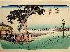 Free Artistic Wallpaper : Hiroshige - Fukoroi