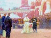 Free Artistic Wallpaper : Ilya Repin - The Imperial Reception of the Freeholding Elders in the Courtyard of the Petrovsky Palace on 18 May 1896