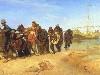 Free Artistic Wallpaper : Ilya Repin - Volga Barge Haulers