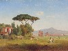 Free Artistic Wallpaper : Inness - Roman Campagna