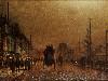 Free Artistic Wallpaper : John Atkinson Grimshaw - The Broomielaw Glasgow