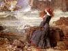 Free Artistic Wallpaper : John William Waterhouse - Miranda (The Tempest)