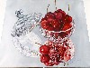 Free Artistic Wallpaper : Joyce Faulkner - Bowl Cherries