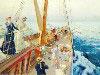 Free Artistic Wallpaper : Julius LeBlanc Stewart - Yachting in the Mediterranean