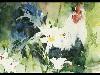 Free Artistic Wallpaper : Kate Osborne - In the Summer Border