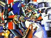 Free Artistic Wallpaper : Kazimir Malevich - The Knifegrinder