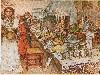 Free Artistic Wallpaper : Carl Larsson - Julaftonen