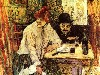 Free Artistic Wallpaper : Lautrec - The Last Crumbs (In The Restaurant La Mie)