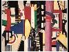 Free Artistic Wallpaper : Leger - City