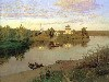 Free Artistic Wallpaper : Levitan - Evening Bells