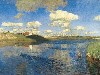 Free Artistic Wallpaper : Levitan - Lake