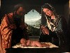 Free Artistic Wallpaper : Lorenzo Costa - Nativity