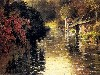 Free Artistic Wallpaper : Louis Aston Knight - A French River Landscape