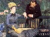 Free Artistic Wallpaper : Manet - In the Conservatory (Study of M. and Mme Jules Guillemet)