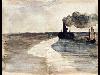 Free Artistic Wallpaper : Manet - Steamboat