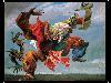 Free Artistic Wallpaper : Max Ernst - Ocell de Foc