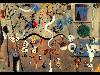 Free Artistic Wallpaper : Miró - Carnival Harlequin