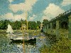 Free Artistic Wallpaper : Monet - Boat