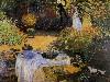 Free Artistic Wallpaper : Monet - Le Dejeuner