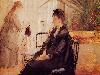 Free Artistic Wallpaper : Morisot - Berthe Interior