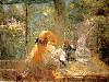 Free Artistic Wallpaper : Morisot - On The Veranda