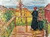 Free Artistic Wallpaper : Munch - Rain
