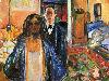 Free Artistic Wallpaper : Munch - The Artist and His Model