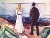 Free Artistic Wallpaper : Munch - The Lonely Ones
