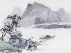 Free Artistic Wallpaper : Oriental Painting