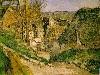 Free Artistic Wallpaper : Paul Cezanne - La Maison du Pendu