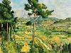 Free Artistic Wallpaper : Paul Cezanne - Mont Sainte Victoire