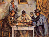 Free Artistic Wallpaper : Paul Cezanne - The Card Players