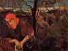 Free Artistic Wallpaper : Paul Gauguin - Christ in the Garden of Olives