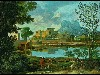 Free Artistic Wallpaper : Poussin - Landscape with a Calm
