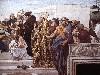 Free Artistic Wallpaper : Raphael - La Disputa (Detail)