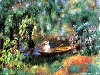 Free Artistic Wallpaper : Renoir - The Skiff