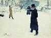 Free Artistic Wallpaper : Repin - Duel Between Eugene Onegin and Vladimir Lensky