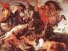 Free Artistic Wallpaper : Rubens - Hippopotamus and Crocodile Hunt