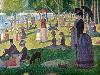 Free Artistic Wallpaper : Seurat - A Sunday on La Grande Jatte