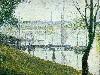 Free Artistic Wallpaper : Seurat - Le Pont de Courbevoie