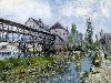 Free Artistic Wallpaper : Sisley - Mill