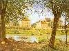 Free Artistic Wallpaper : Sisley - Villeneuve-la-Garenne sur Seine