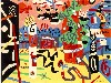 Free Artistic Wallpaper : Stuart Davis - Report from Rockport
