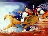 Free Artistic Wallpaper : Susanne Schuenke - The Race Must Go On