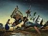 Free Artistic Wallpaper : Thomas Hart Benton - Flood Disaster