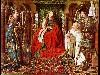 Free Artistic Wallpaper : Van Eyck - Madonna