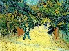 Free Artistic Wallpaper : Van Gogh - Entrance to the Public Garden in Arles